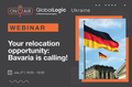 """GlobalLogic Webinar """"Your relocation opportunity: Bavaria is calling!"""""""