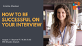 "Презентация ""How to be successful on your interview"""