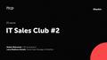 Kharkiv ІT Sales Club #2