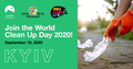 World Clean Up Day in Kyiv