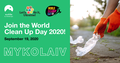 World Clean Up Day in Mykolaiv