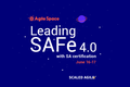 Leading SAFe 4.0 with SA certification by Scaled Agile