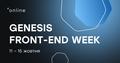 Genesis Front-end Week