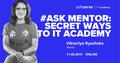 #ASKMENTOR: Secret ways to ITA