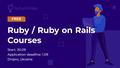 Курси Ruby / Ruby on Rails від RubyGarage