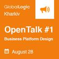 GlobalLogic Kharkiv OpenTalk #1
