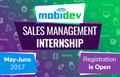 MobiDev Sales Management Internship