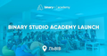 Binary Studio Academy Launch: перша лекція