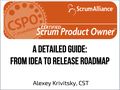 "Тренинг ""Certified Scrum Product Owner: from Idea to Release Roadmap"""