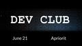 Apriorit Dev Club MeetUp#23