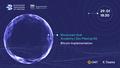 BlockchainHub Academy | Dev Meetup #2 - Bitcoin Implementation