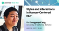 Grammarly AI-NLP Club #12: Styles and Interactions in Human-Centered NLP