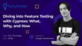 """Лекція """"Diving into Feature Testing with Cypress: What, Why, and How"""""""