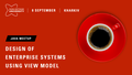 Java meetup «Design of enterprise systems using View Model»