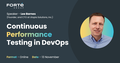 Knowledge sharing session: Continuous Performance Testing in DevOps