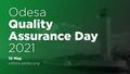 [Скасовано] Odesa Quality Assurance Day 2021