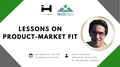 Lessons on Product-Market Fit with Hugo Augusto, MD at Techstars Lisbon