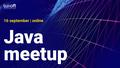 Java meetup by Luxoft