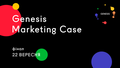 Genesis Marketing Case