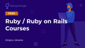 Курси Ruby / Ruby on Rails від RubyGarage
