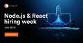 Node.js & React Hiring Week