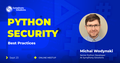 Python security best practices meetup