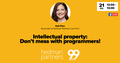 "Webinar ""Intellectual property: Don't mess with programmers!"""
