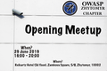 OWASP Zhytomyr Opening Meetup