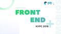 Курс Front-end разработки — школа IT технологий в Киеве