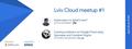 GDG Lviv Cloud meetup #1