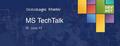 GlobalLogic Kharkiv MS TechTalk
