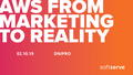 "Meet-up ""AWS from marketing to reality"""