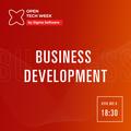 Open Tech Week: Business Development Meetup