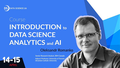 "Курс ""Introduction to Data Science, Analytics and Artificial intelligence"""