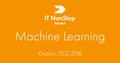 Kharkiv IT NonStop: Machine Learning