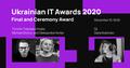 Фінал та церемонія нагородження переможців Ukrainian IT Awards 2020