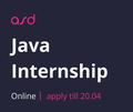 Java Internship від ASD team з подальшим працевлаштуванням