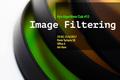 Kyiv Algorithms Club #53 Image Filtering