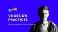 Лекция Дмитрия Новикова «VR design practices»