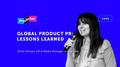Лекція Юлії Петрик «Global product PR: lessons learned»