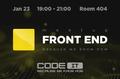 CodeIT Front End Meetup