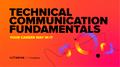Безкоштовне навчання із подальшим працевлаштуванням: Technical Communication Fundamentals
