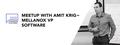 Meetup With Amit Krig – Mellanox VP Software