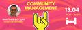 """Лекція """"Навіщо цінувати клієнтів або історія про Community Management"""""""