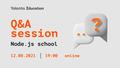 Q&A session — Yalantis Node.js School