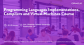 """Oracle Course """"Programming Languages Implementations, Compilers and VM"""""""