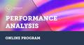 Performance Analysis Online Program | EPAM University