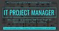 """Лекция """"IT Project Manager - все аспекты работы ПМ-а от А до Я"""""""