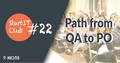 Path from QA to Product Management