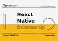 Курс React Native від Stormotion